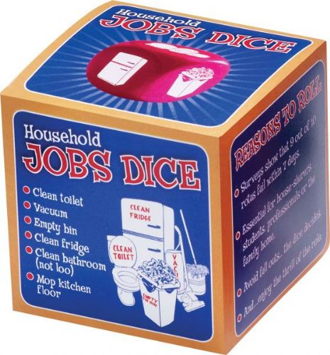 Household Job's Dice Fair for all Game